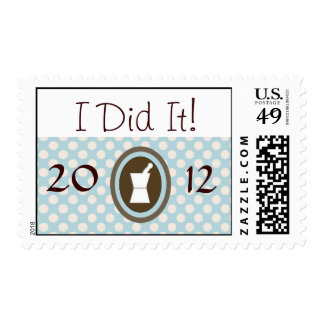 Pharm-D Graduation Postage Stamps