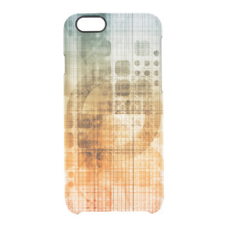 Pharmaceutical Industry with Science Research Clear iPhone 6/6S Case