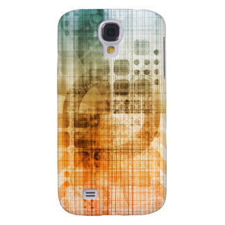 Pharmaceutical Industry with Science Research Galaxy S4 Case