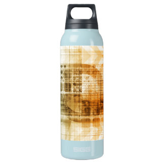 Pharmaceutical Industry with Science Research Insulated Water Bottle