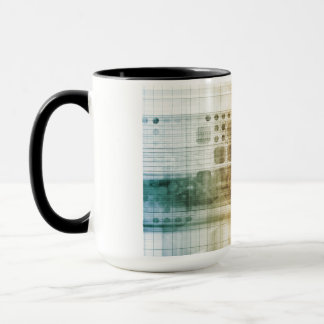 Pharmaceutical Industry with Science Research Mug