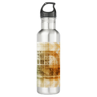Pharmaceutical Industry with Science Research Stainless Steel Water Bottle