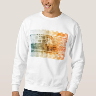 Pharmaceutical Industry with Science Research Sweatshirt