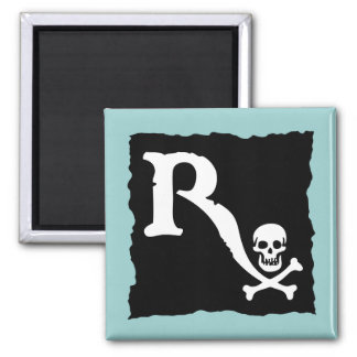 Pharmaceutical Pirate II 2 Inch Square Magnet