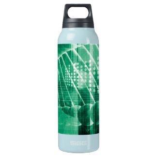Pharmaceutical Research Data As a Science Art Insulated Water Bottle