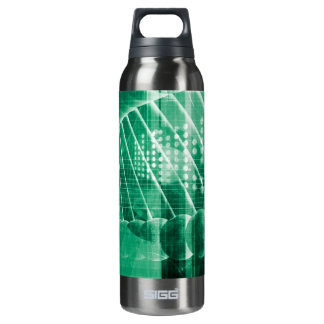 Pharmaceutical Research Data As a Science Art Thermos Water Bottle
