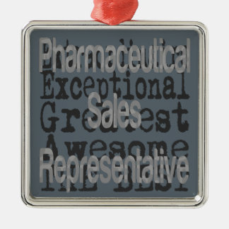 Pharmaceutical Sales Representative Extraordinaire Metal Ornament