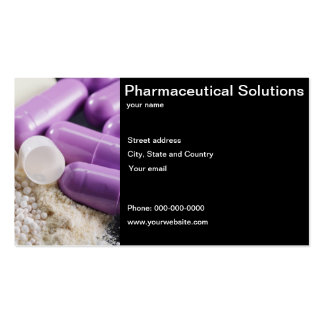 Pharmaceutical Solutions business card