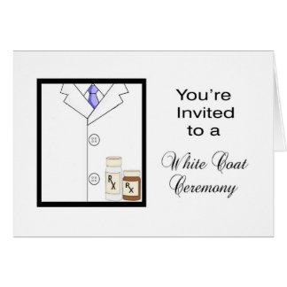 White Coat Ceremony Cards - Greeting & Photo Cards | Zazzle