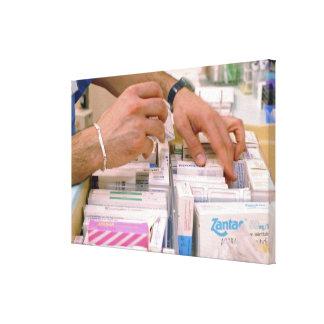 Pharmacist 2 canvas print