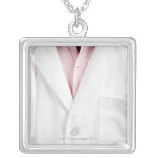 Pharmacist 3 silver plated necklace