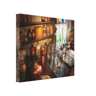 Pharmacist - A little bit of Witch Craft Canvas Print