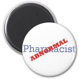 Pharmacist / Abnormal 2 Inch Round Magnet
