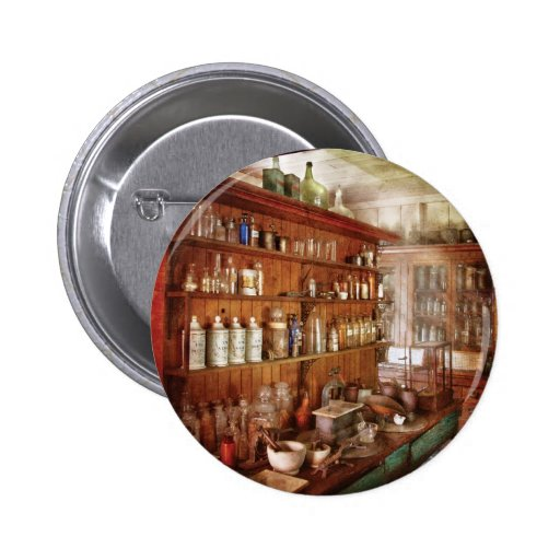 Pharmacist - Behind the scenes 2 Inch Round Button