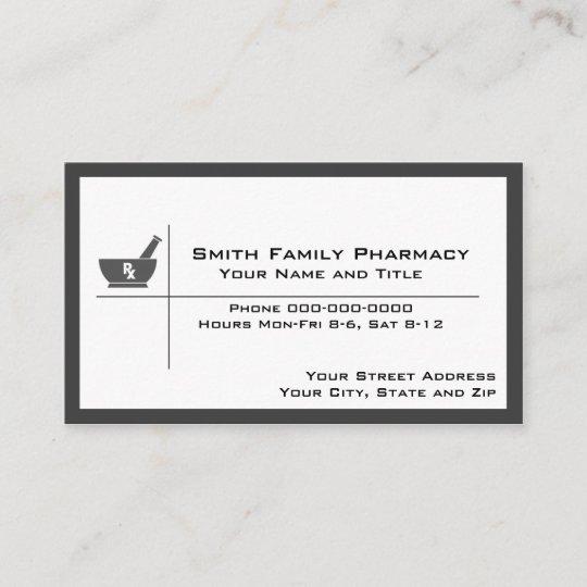 Pharmacist business card zazzle pharmacist business card colourmoves