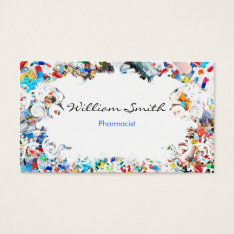 Pharmacist Business Card at Zazzle