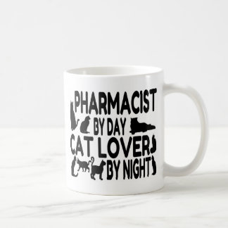 Pharmacist Cat Lover Classic White Coffee Mug