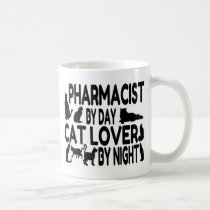 Pharmacist Cat Lover Coffee Mug