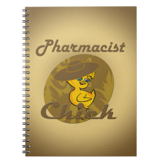 Pharmacist Chick #6 Spiral Notebook