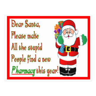 Pharmacist Christmas Cards & Gifts
