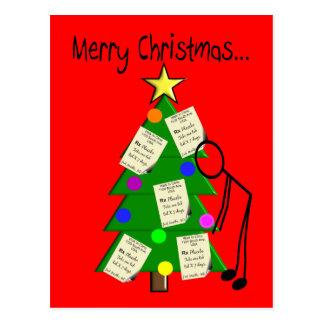 Pharmacist Christmas Cards Postcard