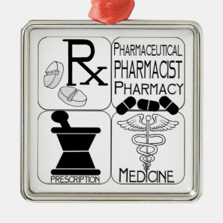 PHARMACIST CHRISTMAS ORNAMENT PHARMACY RX