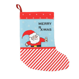 pharmacist Christmas Small Christmas Stocking