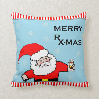 pharmacist Christmas Throw Pillow