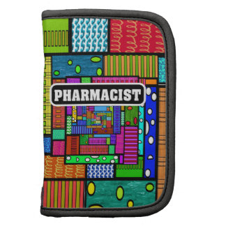 Pharmacist Colorful Abstract Planner