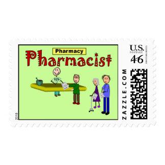 Pharmacist Custom Designed Postage Stamps