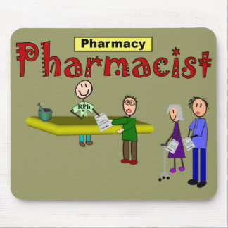 Pharmacist Customers Design Mouse Pad