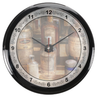 Pharmacist - Digestable Fish Tank Clock