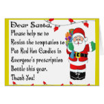 Pharmacist Funny Christmas Themed Gifts Greeting Cards