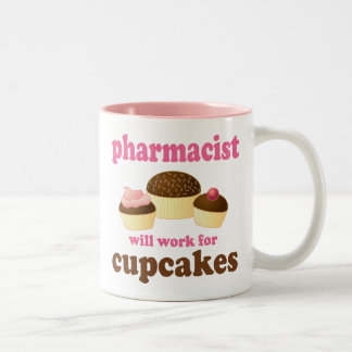 Pharmacist (Funny) Gift Two-Tone Coffee Mug