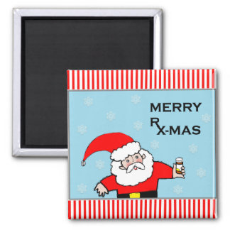 pharmacist gift ideas 2 inch square magnet