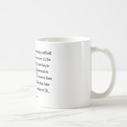 "Pharmacist Gifts ""Brink of Insanity"" Story Art Coffee Mug"
