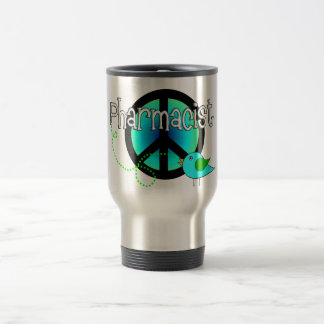 Pharmacist Gifts---Peace Sign Design Coffee Mug