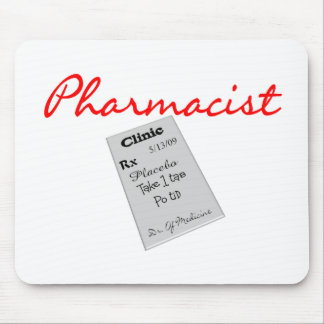 """Pharmacist Gifts """"Rx Pad Graphics"""" Mouse Pad"""
