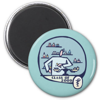 Pharmacist Graduation Gifts 2 Inch Round Magnet