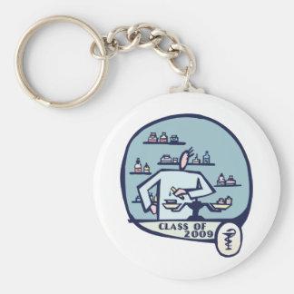 Pharmacist Graduation Gifts Basic Round Button Keychain