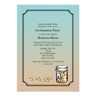Pharmacist Graduation Invitation