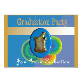 Pharmacist Graduation Invitations