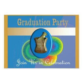 "Pharmacist Graduation Invitations 5"" X 7"" Invitation Card"