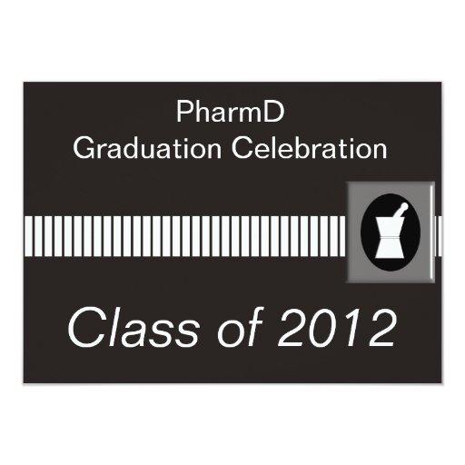 "Pharmacist Graduation Invitations 4.5"" X 6.25"" Invitation Card"