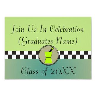 "Pharmacist Graduation Invitations 20XX 4.5"" X 6.25"" Invitation Card"