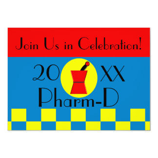 Pharmacist Graduation Invitations 20XX II
