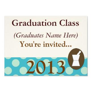 Pharmacist Graduation Invitations Class of 2013