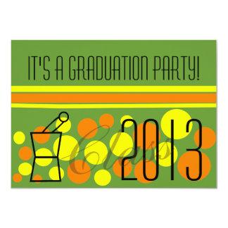 Pharmacist Graduation Invitations Green