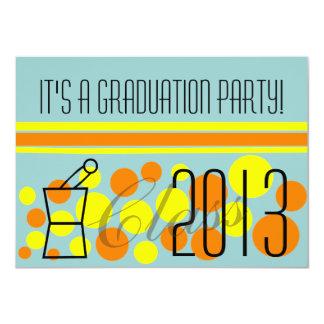 Pharmacist Graduation Invitations Polka Dots