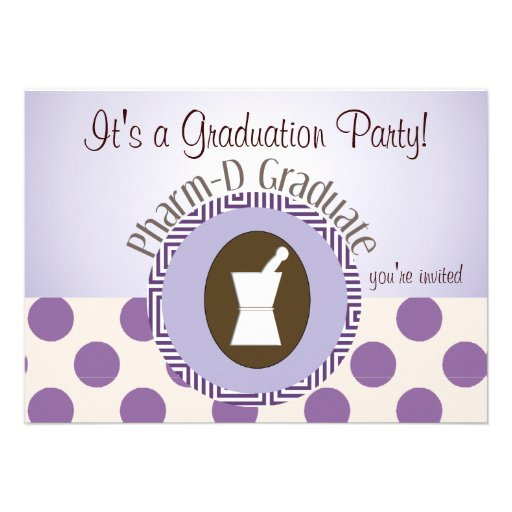 pharmacist graduation party invitations - Graduation Reception Invitations